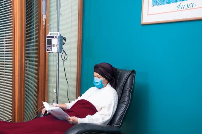 Sala de tratamientos prolongados